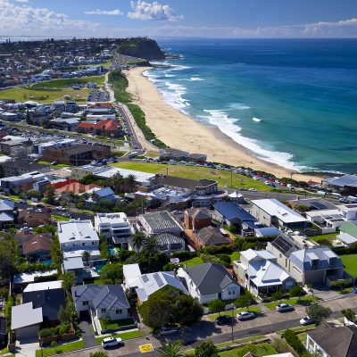 Coastline from Merewether Beach to Bar Beach, Newcastle