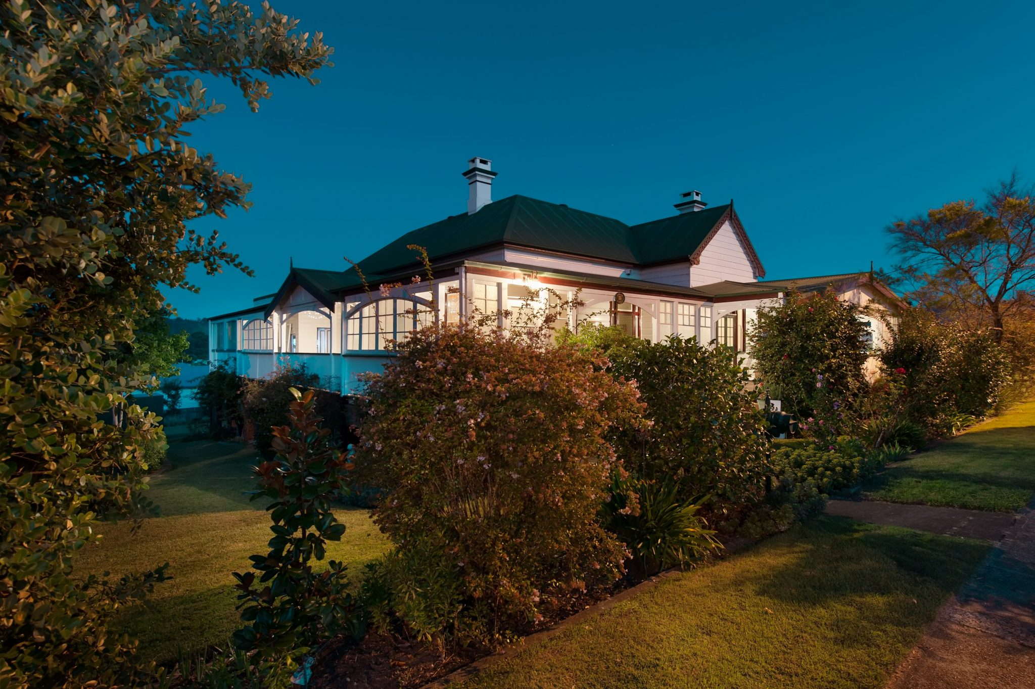 Photo of a renovated old-style home in Dungog