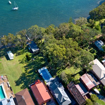 Nords Wharf property on Lake Macquarie