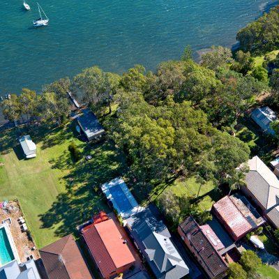 Nords Wharf property on Lake Macquarie