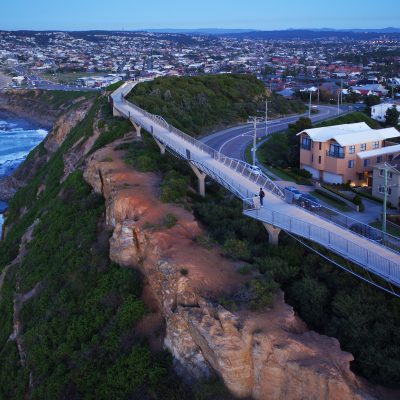 The Anzac Memorial Walk, Newcastle, New South Wales