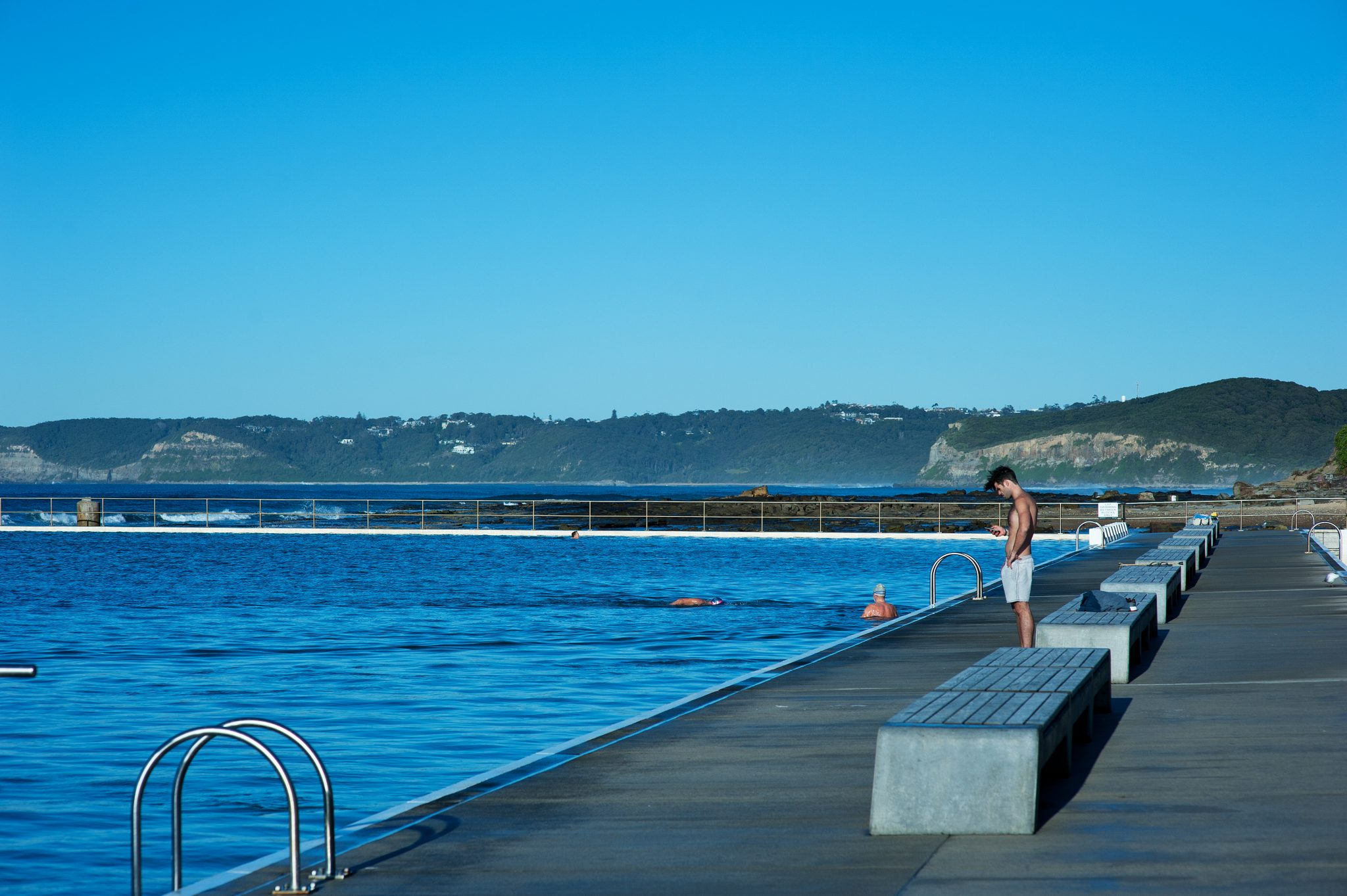 Photo of Merewether baths taken by Newcastle photographer