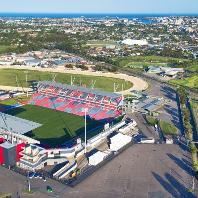 Broadmeadown Stadium and sportsgrounds, Newcastle, New South Wales